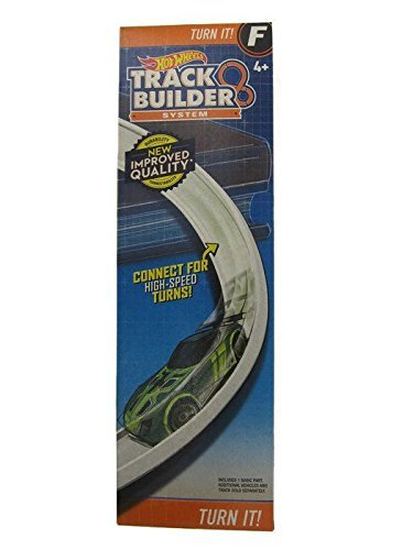 Hot Wheels Track Builder Turn It Curved Track Set F
