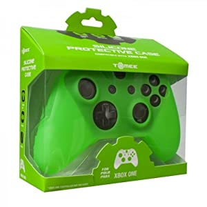Tomee Silicone Skin Protective Case for Xbox One Controller (Green) from Tomee