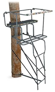 Amazon Com Ameristep 15 Feet Two Man Ladder Stand Camo