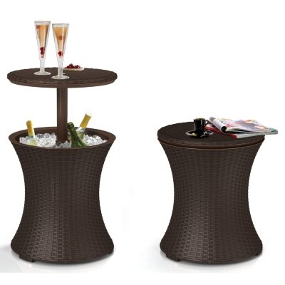 Buy Cheap Keter Rattan Cool Bar