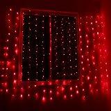 SOLMORE 6Mx3M Rideau Lumineux 600 LED Festival Guirlande Lumineuse pour Décoration de