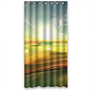 momo colourful terragen shower curtain measures 36 w x 72 h. Black Bedroom Furniture Sets. Home Design Ideas