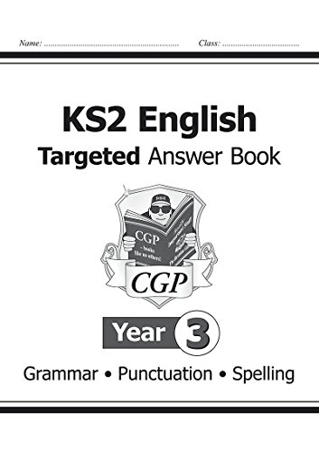 KS2 English Answers for Targeted Question Books: Grammar, Punctuation and Spelling - Year 3