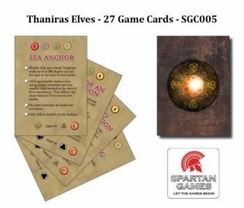 Thaniras Elves Game Cards - 1