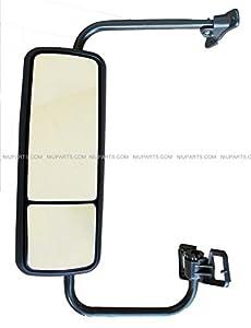 freightliner century door mirror heated black. Black Bedroom Furniture Sets. Home Design Ideas