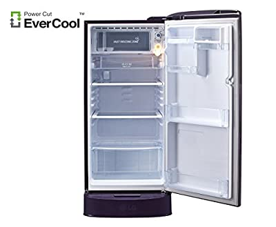 LG GL-D201APAZ.APAZEBN Direct-cool Single-door Refrigerator (190 Ltrs, 5 Star Rating, Purple Aster)