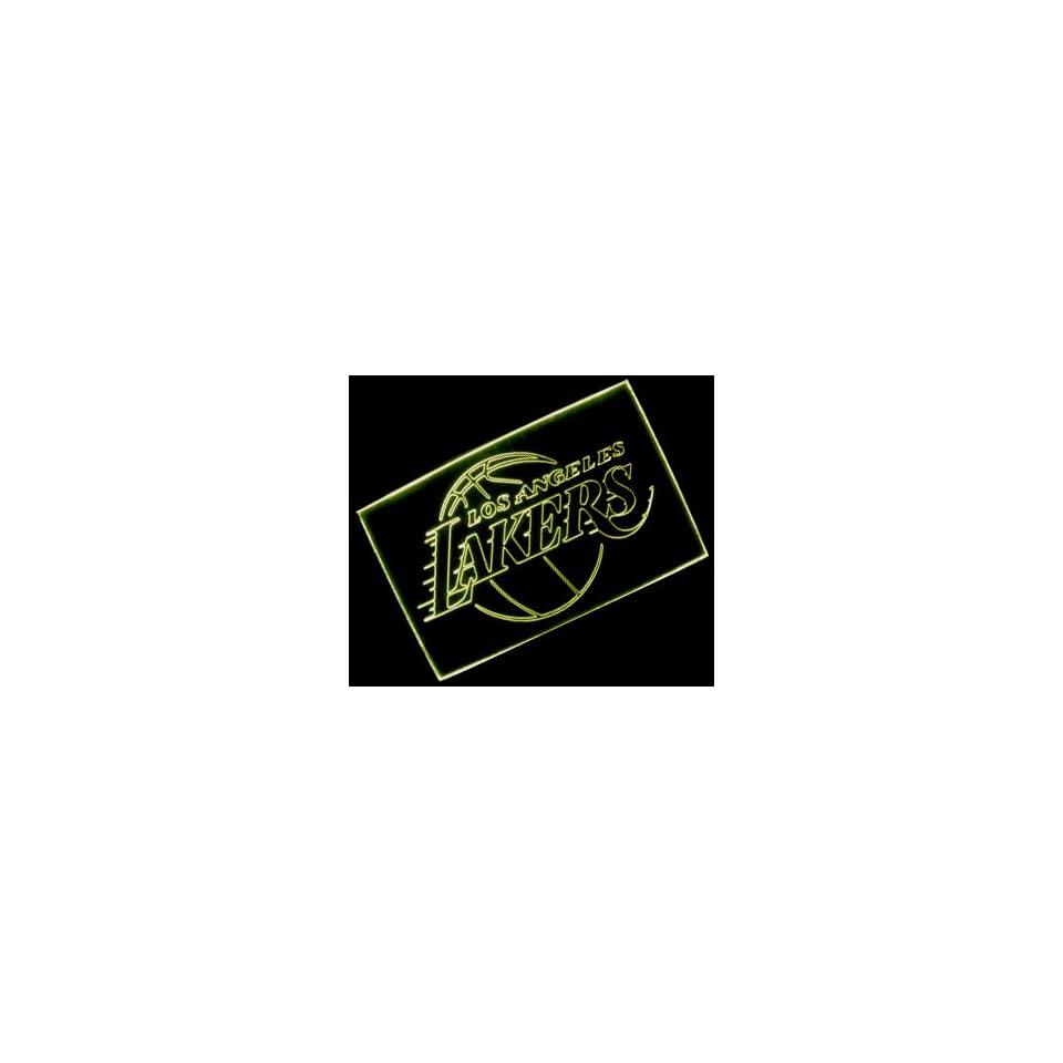 NBA Los Angeles Lakers Team Logo Neon Light Sign