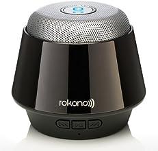 Rokono® (B10) BASS+ Mini Bluetooth Lautsprecher für iPhone / iPad / iPod / MP3 Player / Tablet-PC / Notebook - Titanium Schwarz