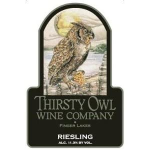 Thirsty Owl Wine Company Riesling 2010 750ML
