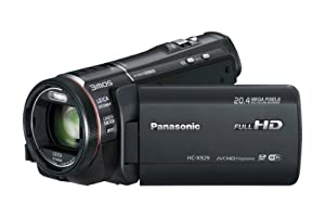 Panasonic HC-X929EG-K 3D-Camcorder (8,4 Megapixel, 3MOS BSI System, 12-fach opt. Zoom, 8,8 cm (3,4 Zoll) Touchscreen, WiFi, Full-HD) schwarz