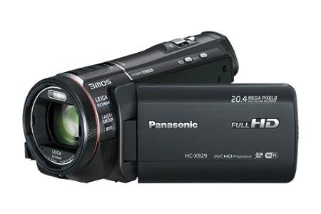 Panasonic HC-X929 Caméra vidéo zoom 25x Wi-Fi Noir