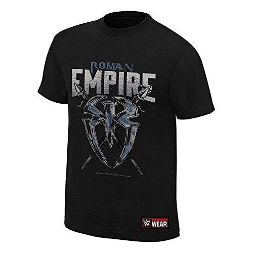 """Roman Reigns Roman'Empire"""" Authentic-Maglietta a maniche corte nero medium"""