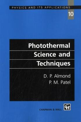 Photothermal Science And Techniques (Chapman & Hall Series In Accounting And Finance)
