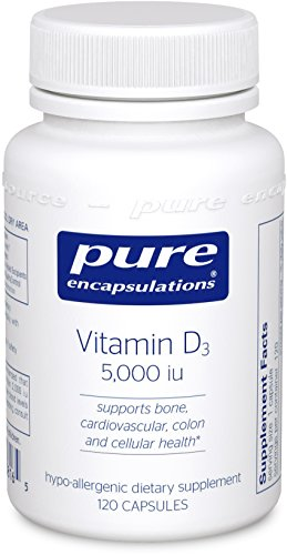 Pure Encapsulations - Vitamin D3 5,000 IU