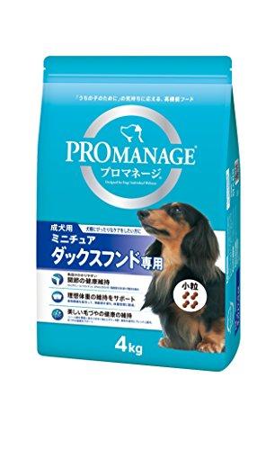 プロマネージ (PROMANAGE) 成犬用 ミニチュアダックスフンド専用 4kg