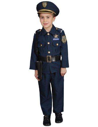 Unisex Police Child Costume