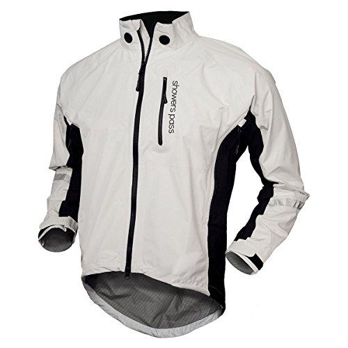 Showers Pass Double Century RTX Jacket - Men's White, M (Showers Pass Double Century compare prices)