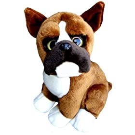 plush boxer toy