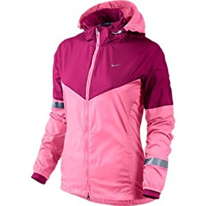Nike Vapor Women's Running Jacket [polarized pink/reflective silver] (XL)