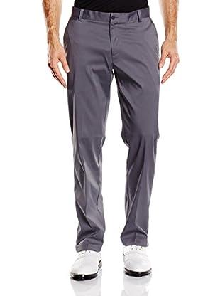 Nike Pantalón Flat Front (Gris)