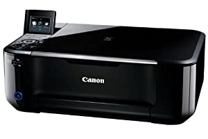 Canon インクジェット複合機 顔料BK+3色染料の新4色インク PIXUS MG4130