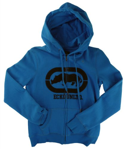 Ecko Red Zip Hoody Brushed Fleece blu chiaro s