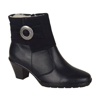 Addison Ladies Ankle Boots Black 42