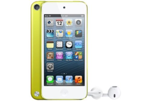 comparamus apple ipod touch 64 go jaune 5 me g n ration nouveau. Black Bedroom Furniture Sets. Home Design Ideas