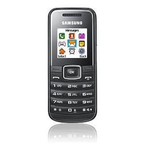 Samsung GT-E1050 Téléphone portable GSM/Bibande Noir
