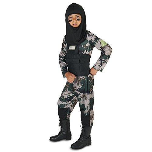 Navy Seal Child Costume M (8-10) (Kids Navy Costumes)
