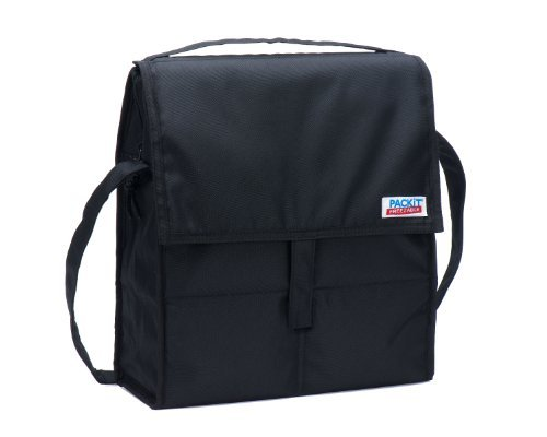 PackIt Freezable Picnic Bag with Zip Closure, Black Color: Black NewBorn, Kid, Child, Childern, Infant, Baby