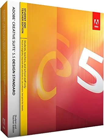 Adobe Creative Suite 5.5 Design Standard - STUDENT AND TEACHER EDITION - MAC