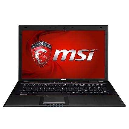 """MSI GP70 2QE-609XFR Leopard Ordinateur Portable 17"""" (43,18 cm) Noir (Intel Core i7, 4 Go de RAM, 1 To, Nvidia GeForce GT940M)"""