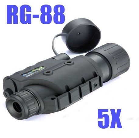 Brand Infrared Dark Night Vision Ir Monocular Binoculars Telescopes 200 Yards 5X (Nsf0202)