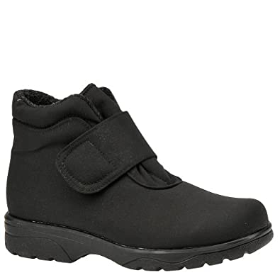 Toe Warmers Women's Velcro Boot - 6 B - Black