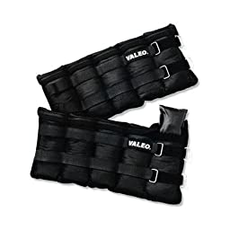 Valeo VA4534BK 10 lbs Adjstable Weights