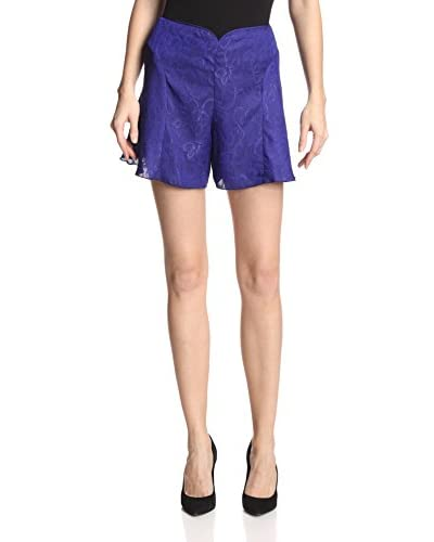 Anna Sui Women's Embossed Jacquard Shorts