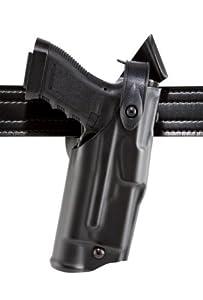 Safariland 6360 Level 3 Retention ALS Duty Holster, Mid-Ride, Black, STX Fine Tac, Glock 22 with M3, Left Hand