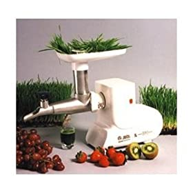 Miracle MJ550-Stainless Steel Electric Wheatgrass Juicer