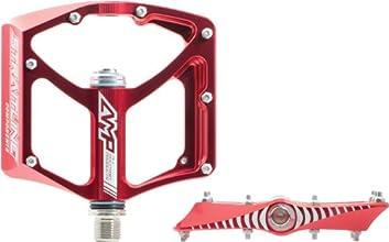 Straitline AMP Bike Pedals Red 916-Inch