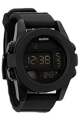 Nixon A197307-00 - Reloj digital de cuarzo para hombre con correa de plástico, color azul
