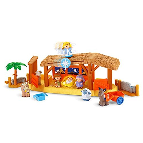 Fisher Price Little People® Nativity Playset 11 Pieces NEW Great for Christmas (Fisher Price Nativity Baby Jesus compare prices)