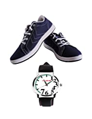 LCR_SWEDEN_NBL Stylish Sport Shoes With 503Watch Combo