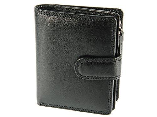 Visconti Compact Multi Compartment Leather Purse