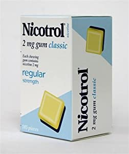 Nicotrol Nicotine Gum 2mg Classic/Original 6 Boxes 630 Pieces