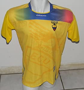 Buy ECUADOR SOCCER JERSEY SIZE LARGE by DRAKO INC