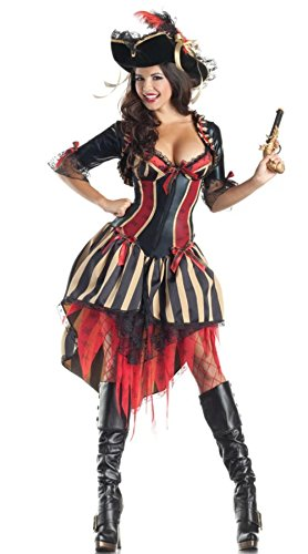 DoLoveY Women's Pirate Costumes Bar Sexy Outfits