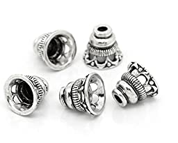 10PCs Tower Shaped Bead Caps Jewelry Findings bead end caps fit 18mm Beads