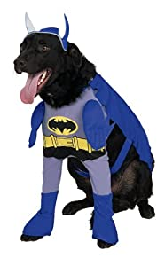 Rubies Costume Batman The Brave and the Bold Deluxe Pet Costume, Small