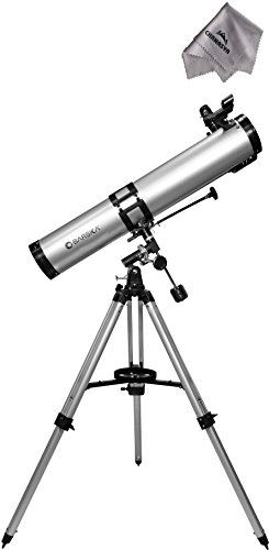 675 Power 900114 Starwatcher Telescope Ae10758 With Chanasya Polish Cloth Bundle